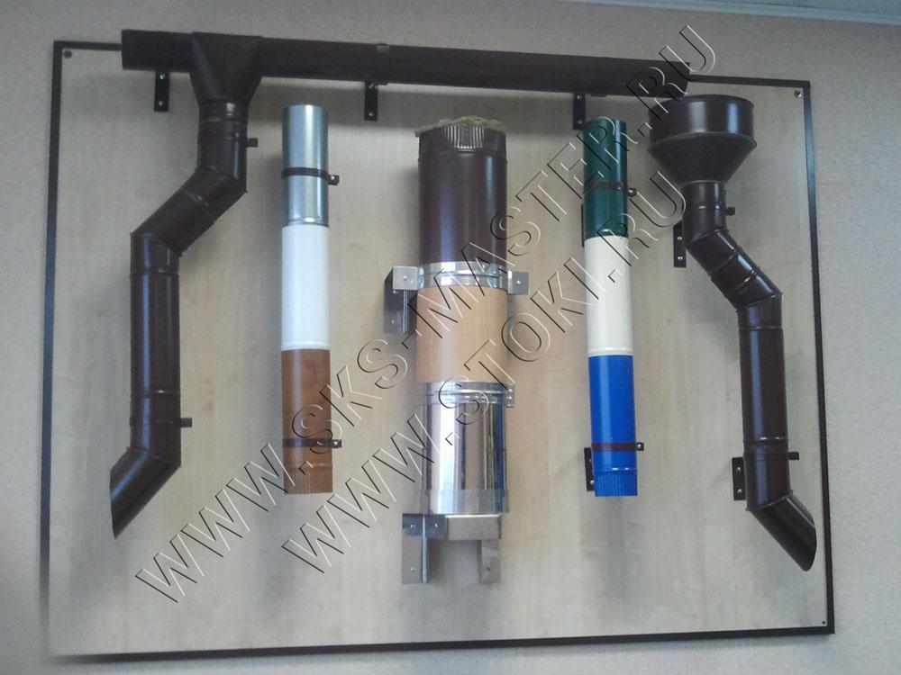 На фото представлены изделия, изготовленные на следующем  листообрабатывающем оборудование; фальцегиб ручной, вальцы трехвалковые, зиг машина.