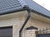 Красивые дома и правильно установленная водосточная система, залог долголетия дома, коттеджа и без проблемная жизнь хозяев.